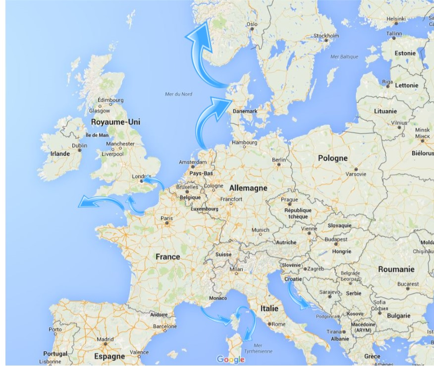 CARTE NAV EUROPE 2