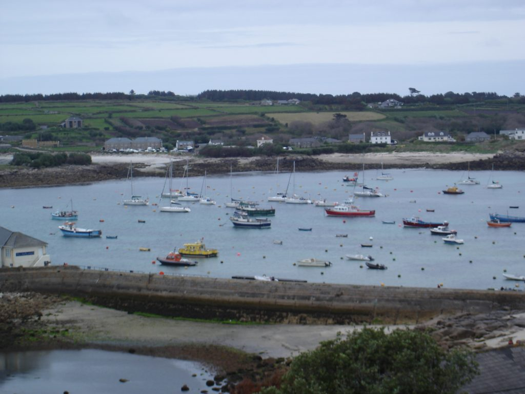 scilly hugh town